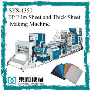 PP Máquinas Extrusoras para películas delgadas y hojas gruesas SYS-PP130