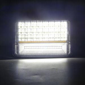 Personalizar 4X6 LED DRL para carretilla 45pcs*3W LED de alta potencia faro