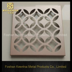 Corte láser personalizada falso techo de placa cuadrada (KH-MC-P3).