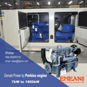 potere diesel silenzioso del gruppo elettrogeno 40kVA da Perkins