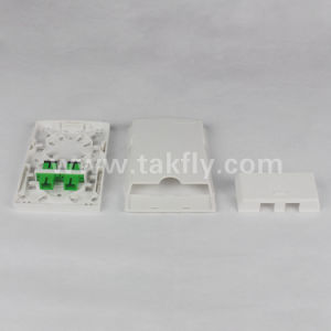 2 núcleos FTTH/Caja de pared Caja de terminales de fibra óptica