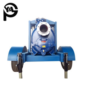 6 Polegadas Self-Priming do motor diesel da bomba de tratamento de água de esgoto centrífugos