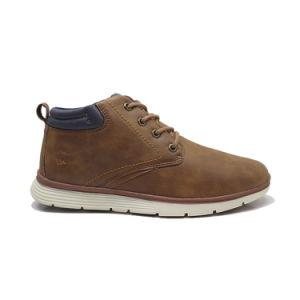 Середине разрез кожи мужчин платья обувь мужчин моды кожаные сапоги