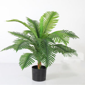 Paraísos artificiais das palmeiras e plantas tropicais falsos Palmeira para Home Office Decoração
