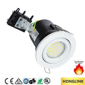 China proveedor GU10 Fuego luz tenue luz de techo soporte para el mercado del Reino Unido