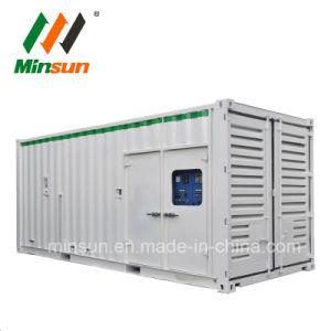 generatore diesel elettrico insonorizzato silenzioso del gruppo elettrogeno del contenitore di 25kVA- 3125kVA