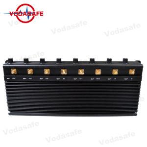Beroeps 8 Antenas Refrigerado van Bloqueador; GSM, CDMA, 3G, UMTS, 4glte, Cellular Phones, WiFi/Bluetooth, 4gwimax, Lojack/GPS Signal Jammer Blocker