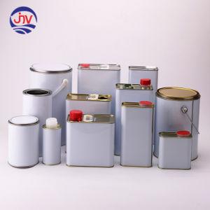 Custom прямоугольник металлические банки для продажи
