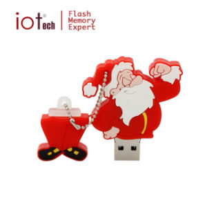 Рождественский подарок браслете снежную бабу USB флэш-накопитель USB 2.0 1 Гб/8 Гб/16 Гб/32 Гб