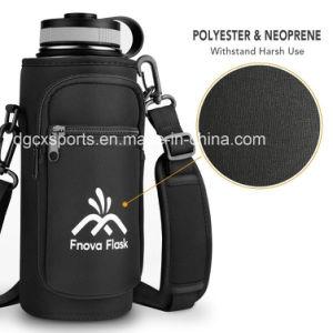 Sport de plein air à l'épaule longue bandoulière Sac de refroidisseur de bouteilles en néoprène