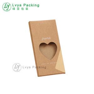 Het Suikergoed die van het Karton van de Vorm van het Hart van de douane het Vakje van het Document van de Gift vouwen
