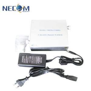 , Behandelt het Dubbele Signaal HulpTe8021b van de Band GSM/3G, ongeveer 200-300 Vierkante Meters, de Repeaters van de Telefoon van de Cel Verizon