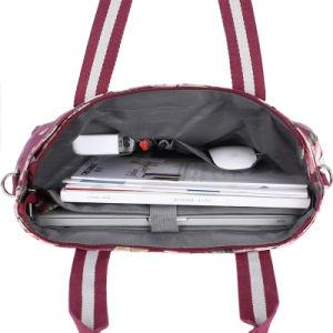 流行の印刷のキャンバスのラップトップの箱袋のバックパックのハンドバッグ(FRT3-395)