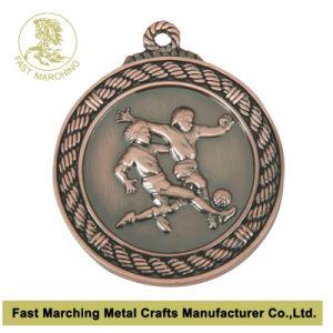 カスタムドラゴンオリンピック記念日のスポーツの野球のバスケットボールのフットボールの連続したメダル