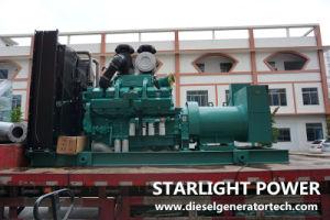 350kwスタンバイの発電機のCumminsのディーゼル機関電気生成セット