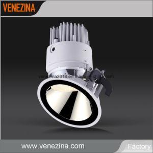 Comercial de alta potencia COB bañador de pared LED de luz tenue Downlight empotrable de techo