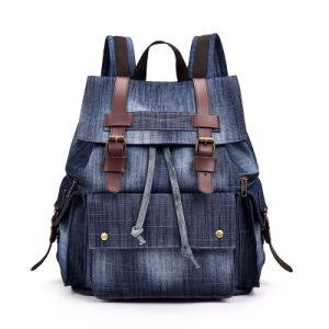 Los hombres de alta calidad de las mujeres de gran tamaño Jean mochila de viaje