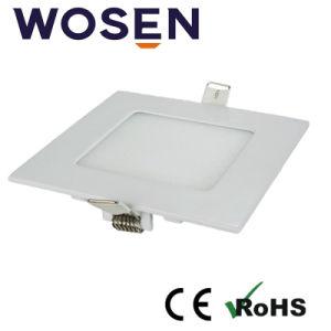 5500K reine weiße importierte Mitsubishi Panel-Lampe der Führungs-Platten-3W LED