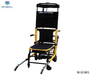 O CES M001 ESCADA ELÉTRICA Potência de elevação do veículo de escalada de evacuação cadeiras para paciente