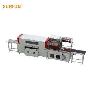 Macchina per l'imballaggio delle merci automatica di imballaggio con involucro termocontrattile del contenitore di traforo di calore del fornitore della Cina