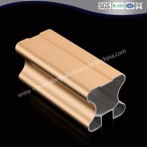 Venta caliente de la puerta de armario deslizante de perfil de aluminio de extrusión