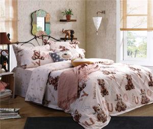China fornecimento fábrica 100% algodão Levar roupa de impressão definida para o hotel/Homestay