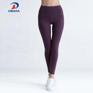 Couleur Pure Yoga jambières collants de compression le vêtement de sport de performance
