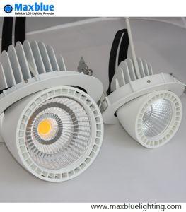 6 Pulgadas de Mazorca Gimbal Ajustable de 50W Downlight LED de 5 Años de Garantía