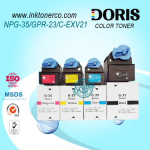 Kompatibler erstklassiger nachfüllbarer Farben-Kopierer-Toner IR C2550 C2880 C3080 C3380 C3480 der Toner-Kassetten-Gpr23 C-Exv21 Npg35 für Canon Irc3380