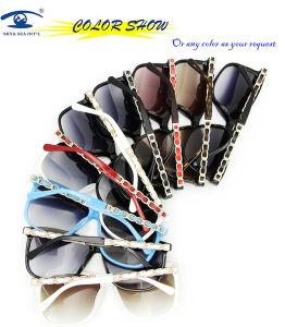 2013 Gafas de Sol Hechas a Mano Coloridas de la Manera del Acetato del Estilo (5260)