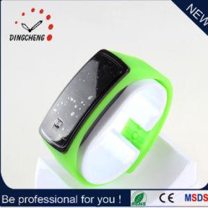 方法極めて薄いシリコーンの女性のタッチ画面の腕時計の人LEDデジタルのスポーツの腕時計の服の腕時計(DC-052)