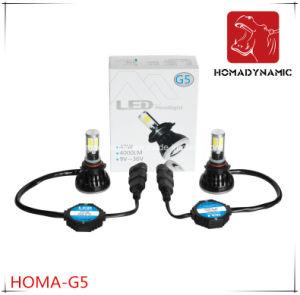 セリウムFCC RoHS Ceritification G5車LEDのヘッドライト9005 9006 LEDの球根40W 80W LEDライト