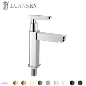 Luansenの単一のハンドルの真鍮の洗面器のミキサーのコック