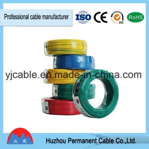 Com isolamento de PVC de núcleo único fio eléctrico