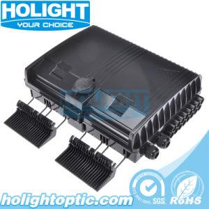 Terminal de fibra óptica FTTH de verificación de la pared de empalme de fibra al aire libre Caja de distribución