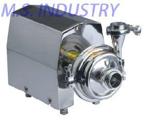 Pompe centrifuge en acier inoxydable pour l'alimentation de liquide de boissons