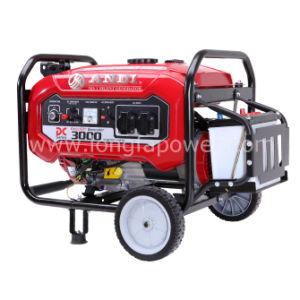 3Квт / 3 КВА бензин электрический генератор с помощью рукоятки и колеса