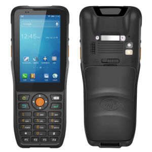 Lecture de code à barres 4G LTE Téléphone cellulaire PDA Mobile utilisé à l'Express de la logistique