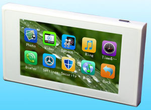 Nouvel enregistrement de haute qualité photo et enregistrer les appels téléphoniques 4.7 pouces écran LCD couleur de la vision de nuit porte numérique Viewer