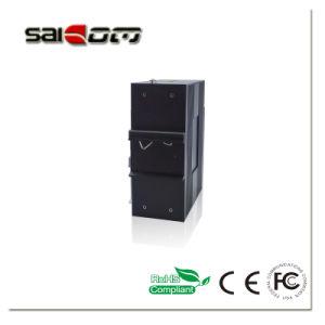 8개의 RJ45 포트를 가진 관리되지 않는 산업 Saicom 스위치 변환기