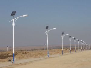 12V 50W LEDの屋外の使用のための太陽街灯