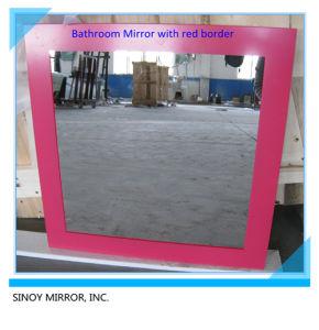 Glas van de Spiegel van de Muur van Sinoy het Decoratieve Zilveren (KMIO-SM1017)
