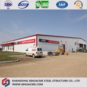 Estructura metálica prefabricada almacén de la estructura de acero