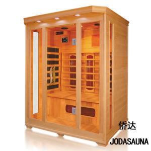 Baracca asciutta di Infrared lontano della famiglia della casa portatile di sauna