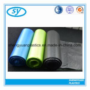 Le PEHD/LDPE sac à ordures en plastique sur le rouleau