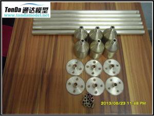 Ottone di precisione/pezzo meccanico dell'acciaio/di alluminio CNC per macchinario