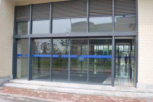 Automatische Glasschiebetür für Handelsgebäude