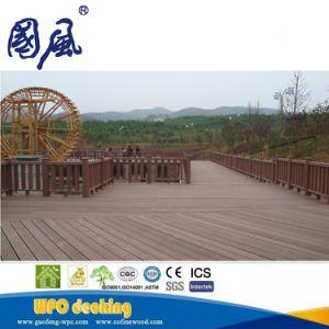 Rotaie di recinzione composite esterne del giardino WPC