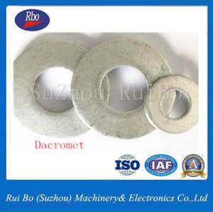 Dacromet DIN6796 rondelle conique rondelles en acier inoxydable de la rondelle de disque la rondelle de blocage