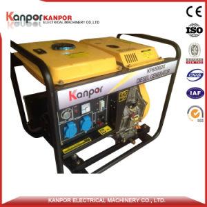 1.7Kw Kanpor-6.5kw Open Type générateur diesel refroidi par air